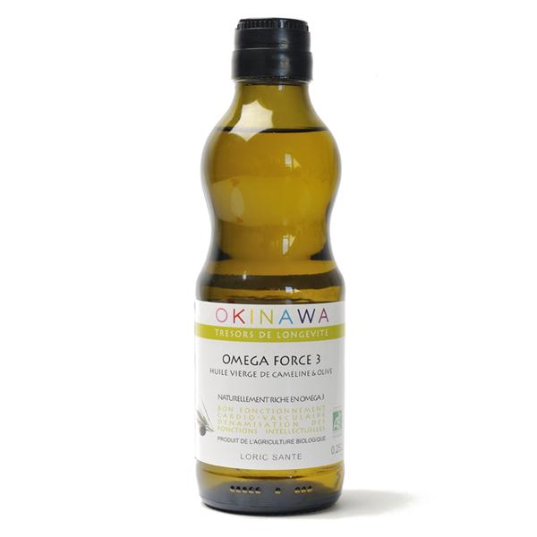 omega-force-3-olive bouteille