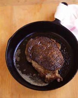 viande carbonisée