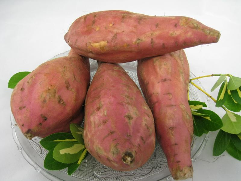 Salade de patate douce crue